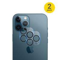 Olixar iPhone 13 Pro Tempered Glass Camera Protector - Twin Pack