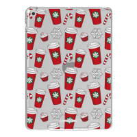 """LoveCases iPad 10.2"""" 2021 Gel Case - Red Christmas Cups"""