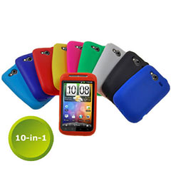 Silicone cases for your htc wildfire s to suit your style or mood