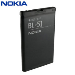 This genuine Nokia BL-5J is a high quality replacement battery for the Nokia N900, X6, 5230, 5800 Xpress Music, C3, 5228, 5235 and X1 00.