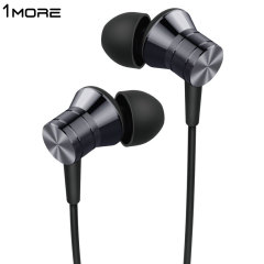 1more Piston Fit In-Ear Headphones with Built-In Mic - Space Grey