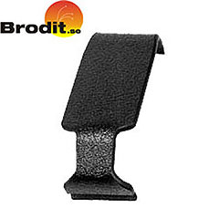 The Brodit ProClip is a custom designed mounting bracket, created specifically for each vehicle's dashboard.