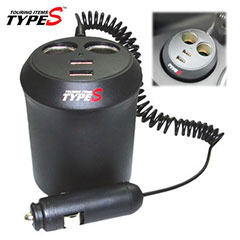 Type S Universal Auto USB/DC Power Port