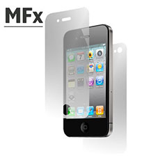 MFX Front & Back Screen Protector Pack - iPhone 4S / 4