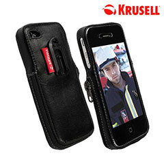 iPhone 4S / 4 Krusell Classic Leather Case