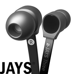 a-Jays Three Heavy Bass Impact Earphones