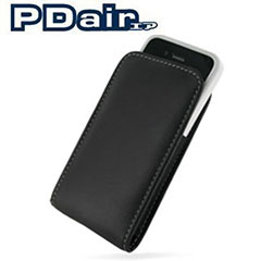 Funda cuero PDair Vertical compatible con Bumper -iPhone 4S/4