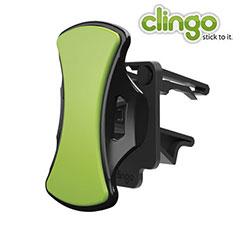 Installez votre téléphone en toute sécurité dans votre voiture grâce à la technologie auto adhésive unique du Clingo.