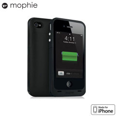 Funda iPhone 4S / 4 Mophie Juice Pack - Negra