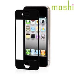 Moshi iVisor AG Anti Glanz iPhone 4/ 4S Displayschutzfolie Schwarz