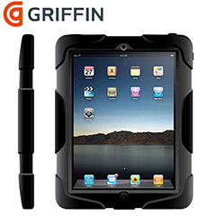 Griffin Survivor Case voor iPad 2/3 - Zwart