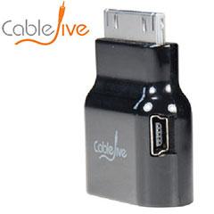 Conecte su iPad / iPhone o iPod en el dock de dockStubz con la funda puesta.