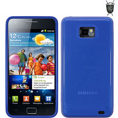 Funda Skin FlexiShield  Samsung Galaxy S2 i9100- Azul