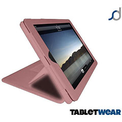 Funda iPad 4 / 3 / 2  TabletWear Advanced - Rosa