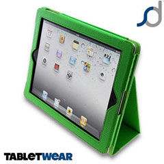 SD TabletWear Stand and Type Case voor iPad 4 / 3 / 2 - Groen