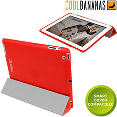 Cool Bananas SmartShell for iPad 2 - Red