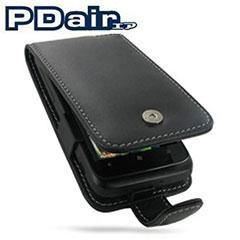PDair Leder Flip Case für Samsung Galaxy S2 i9100
