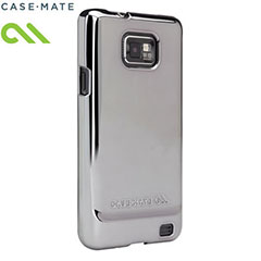 Case-Mate Barely There para Samsung Galaxy S2 i900- Plateada