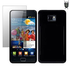 Funda FlexiShield Skin Advanced para e Samsung Galaxy SII i900- Negro Sólido
