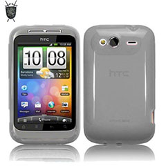 FlexiShield Skin Case für HTC Wildfire S in Klar