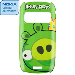 Nokia CC-5002 Angry Birds Hard Cover for C6-01 - Pig King