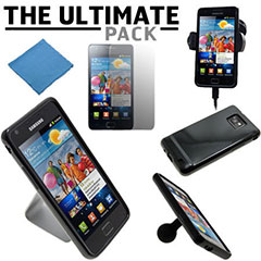 The Ultimate Samsung Galaxy S2 Accessory Pack