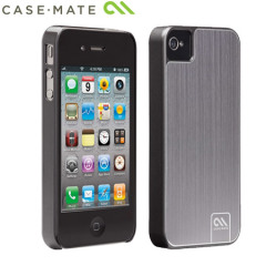 Case-Mate Barely There para iPhone 4S / 4 - Aluminio Pulido