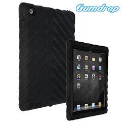 Coque iPad 4 / 3 / 2 GumDrop - Noire