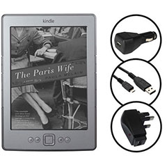 3-in-1 Charger Pack for the Amazon Kindle