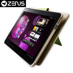 Zenus Masstige Basic Band Series case voor Samsung Galaxy Tab 10.1 - Beige