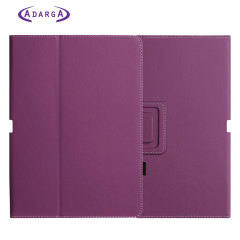 SD TabletWear Stand and Type Samsung Galaxy Tab 10.1 Case - Paars