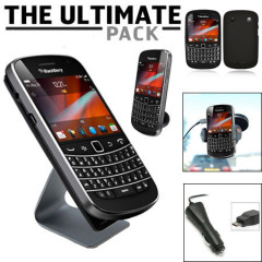 Das Ultimate Pack BlackBerry Bold 9900 Zubehör Set