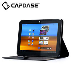 Capdase Leather Flip Case voor Samsung Galaxy Tab 10.1