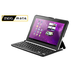 ZAGGfolio Case met Bluetooth Keyboard voor Samsung Galaxy Tab 10.1