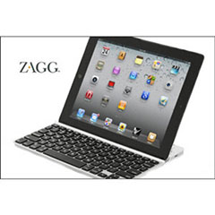 ZAGGkeys SOLO Bluetooth Keyboard for Tablets and Smartphones - Silver