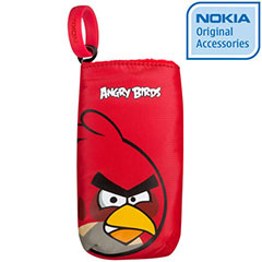 Pochette de transport officielle Nokia Angry Birds CP-3007 - Red Bird