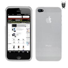クリスタルケースのような保護力と、シリコンケースのように耐久性にすぐれたケースでiPhone 5を守ります