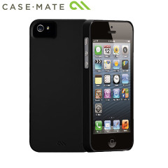 Coque iPhone 5S / 5 Case-Mate Barely There - Noire