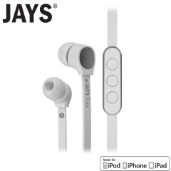 a-Jays Four Heavy Bass Impact Hands-free voor iPhone, iPad en iPod Touch - Wit