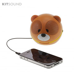Altavoz portátil KitSound Bear Buddy