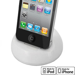 Base de carga iPhone 4S / 4 - Blanca