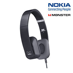 Nokia WH-930 Purity HD Stereo Headphones - Black