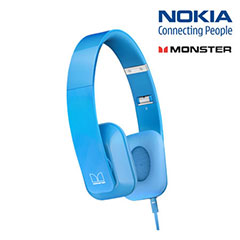 Nokia Purity HD Stereo Headphones - Cyan