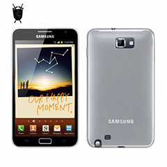 Funda FlexiShield Skin para Samsung Galaxy Note - Blanca