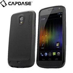 Capdase Samsung Galaxy Nexus Soft Jacket 2 Xpose - Solid Black