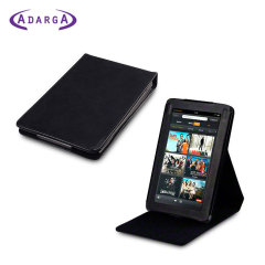 SD TabletWear LuxFolio Vertical Kindle Fire Case - Black