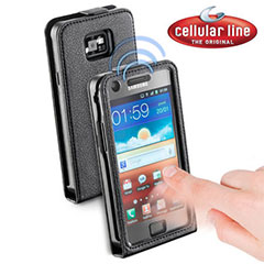 Funda Samsung Galaxy S2 Cellular Line Smart Flap