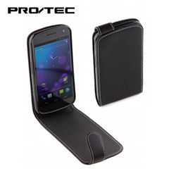 Custodia flip in pelle Pro-Tec Executive per Samsung Galaxy Nexus