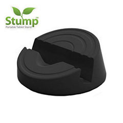 Soporte para tableta Stump 3 en 1 - Negro