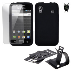 Pack Flexishield Imperial Samsung Galaxy Ace - Noir